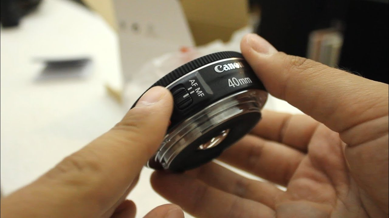 Canon EF 40mm STM 'Pancake' lens review (with samples) - YouTube