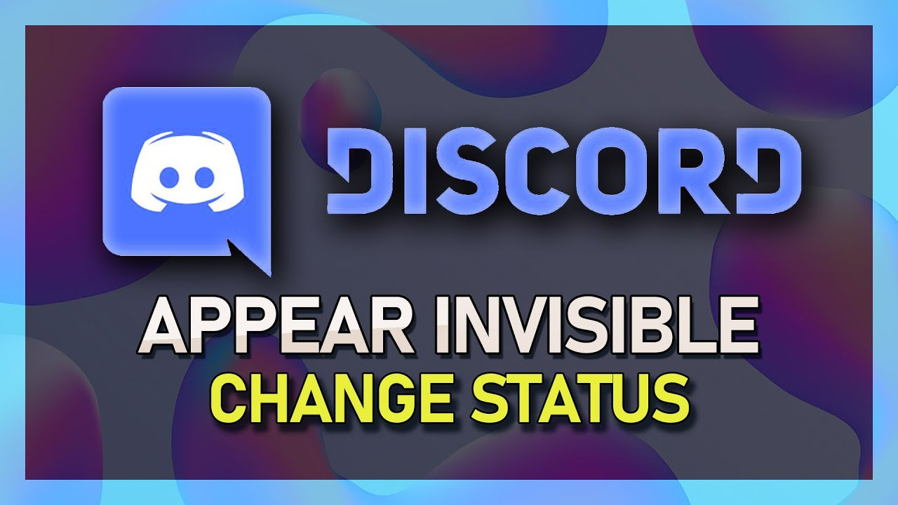Discord How To Apprear Invisible Set Account To Idle
