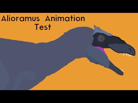 Alioramus Roar Test