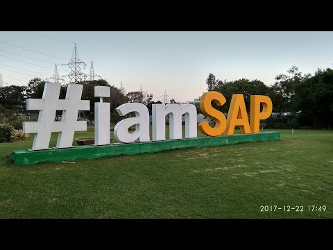 SAP Bangalore @ New Building Ground Floor Glimpses