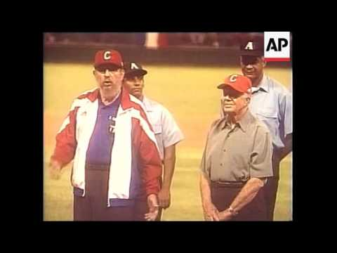 Cuba: Former Us President, Jimmy Carter, Begins Historic Visit, Carter Meets Dissidents, Carter And