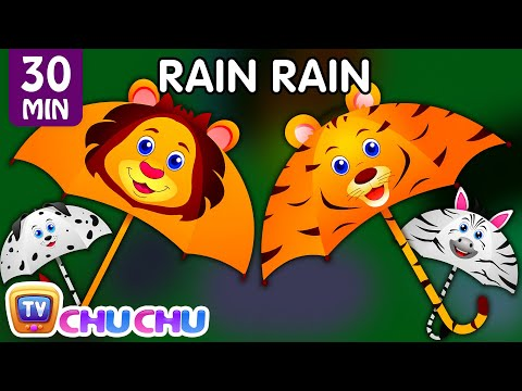 Thumbnail: Rain, Rain, Go Away and Many More Videos | Best Of ChuChu TV | Popular Nursery Rhymes Collection