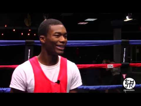 Adrian Bonner Talks About His Houston Golden Gloves Experience