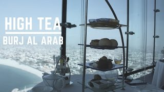 Afternoon Tea in Burj Al Arab