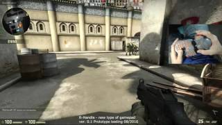 R-Handle gamepad. Test #9 Counter-Strike: Global Offensive