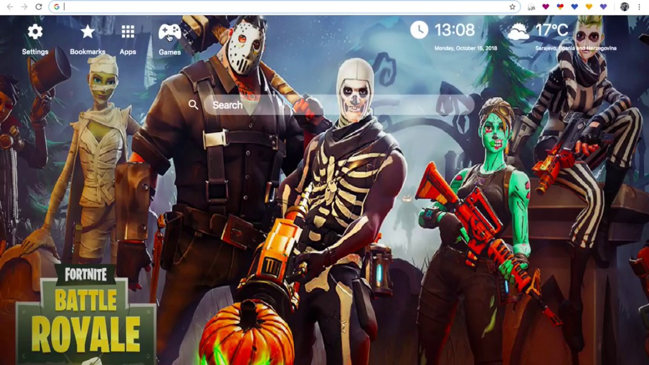 Fortnite Skull Trooper HD Wallpapers