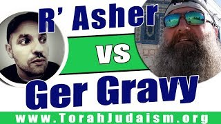 R' Asher Meza challenges the Ger Movement