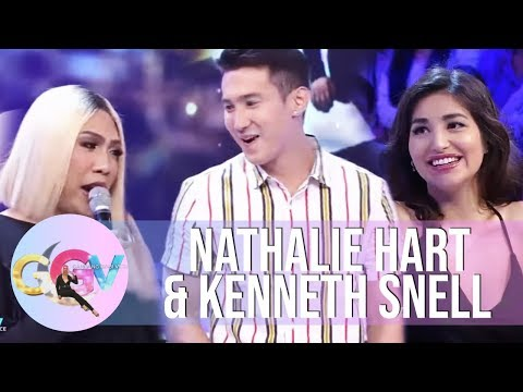 GGV: Nathalie Hart duces her brother to Vice Ganda