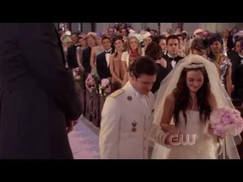 "Gossip Girl's 100th episode, season 5 episode 13 - ""G.G."" Wedding entrance and Blair's runaway"