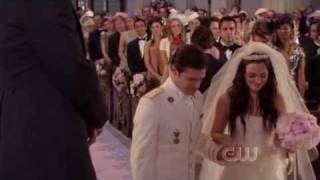 "Gossip Girl's 100th episode, season 5 episode 13 - ""G.G."" Wedding entrance and Blair's runaway"