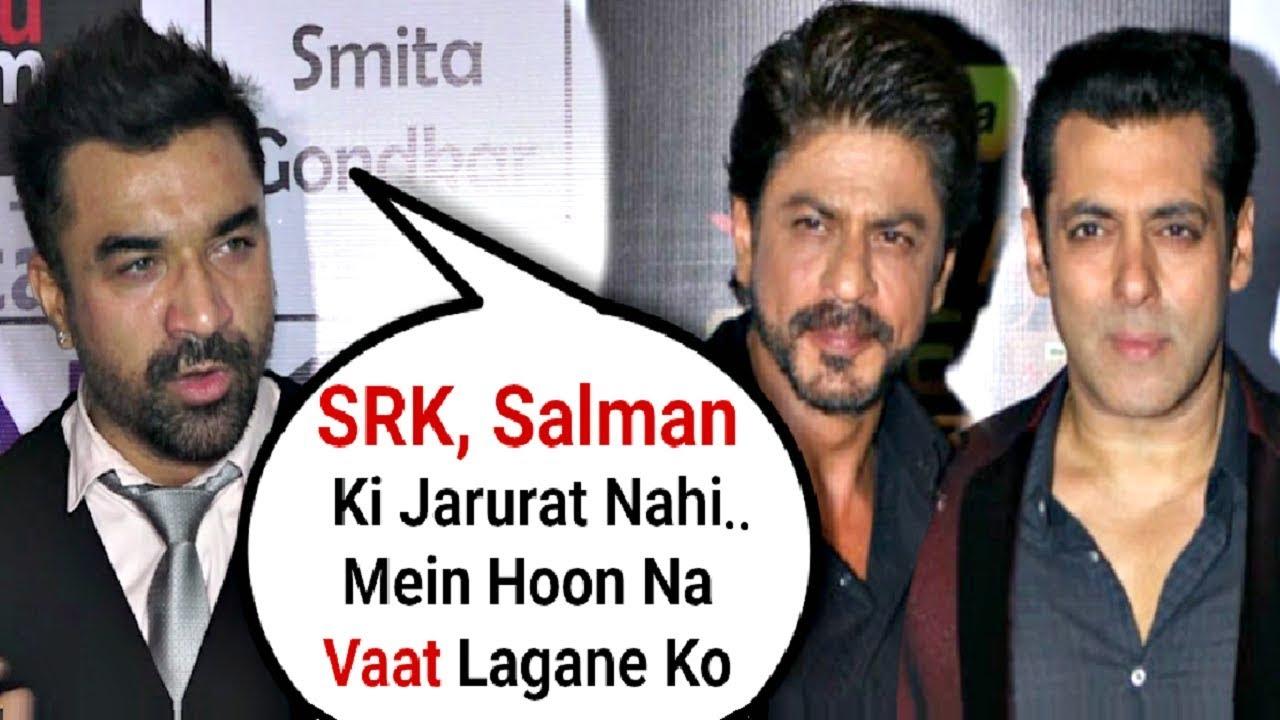 Ajaz Khan Slams Shahrukh Khan, Salman Khan For Not Reacting On Hindu- Muslim