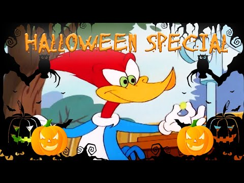 🎃 Woody Woodpecker 🎃 | Woody Is invaded By Ants! | Full Episode | Animated Cartoons For Children