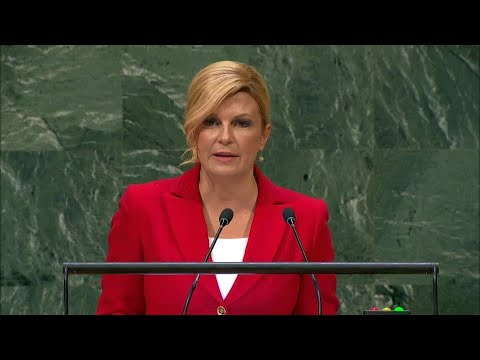 🇭🇷 Croatia - President Addresses General Debate, 73rd Session