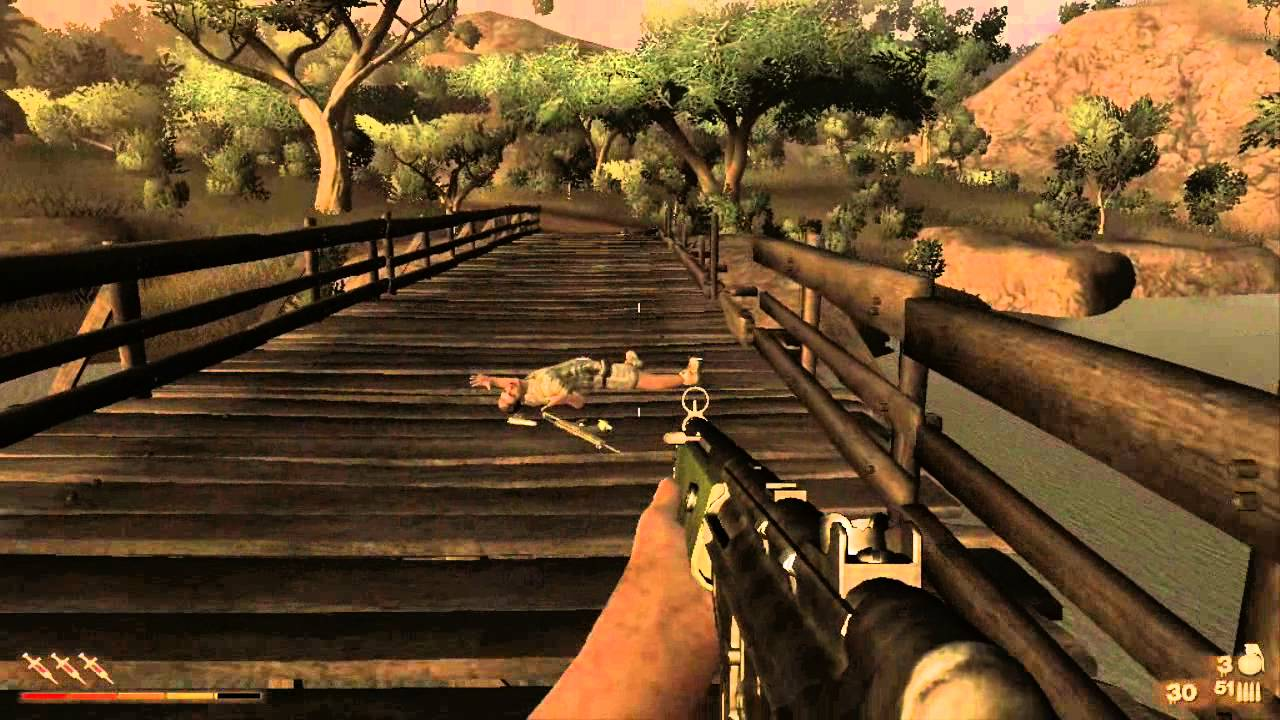 Far Cry 2 Walkthrough Part 5 The Golden Ak 47 And Its Location Youtube