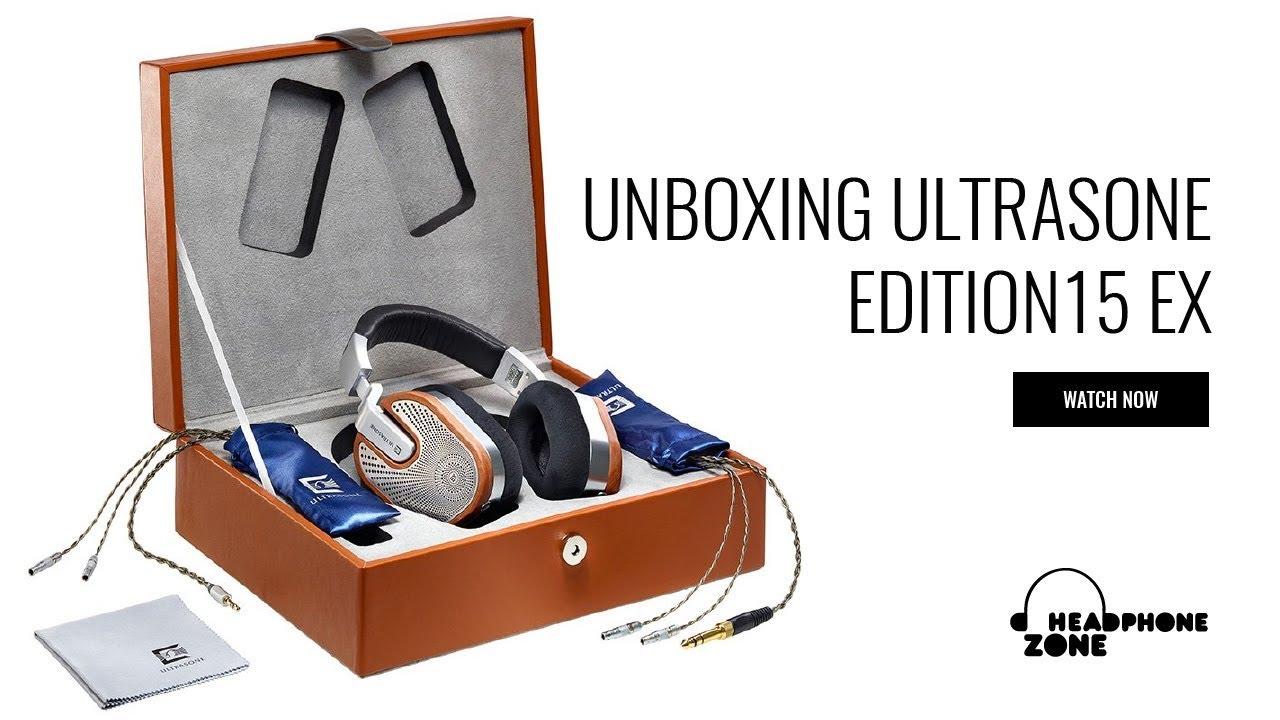 Unboxing Ultrasone Edition 15 EX - YouTube 640b448a57e13
