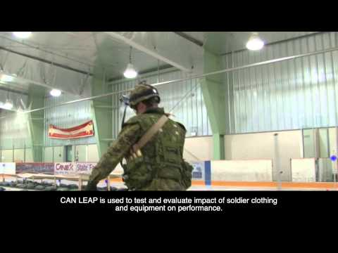 DRDC's CAN LEAP course an important tool in assessing soldier combat mobility