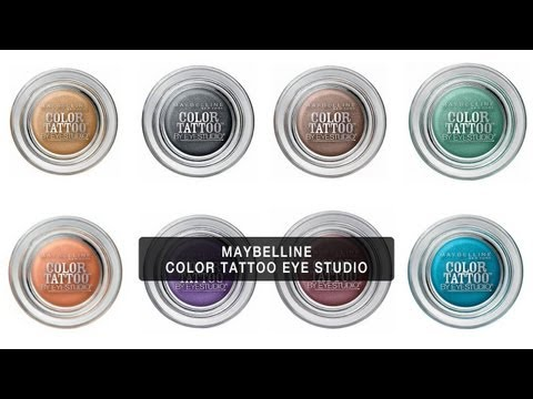 Expert Makeup Review: MAYBELLINE EYE STUDIO COLOR TATTOO
