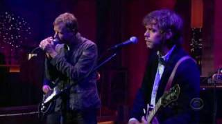 The National On Letterman - July 24, 2007