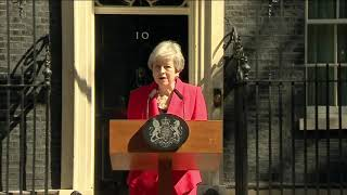 Tearful Theresa May Announces She'll Resign as Prime Minister June 7