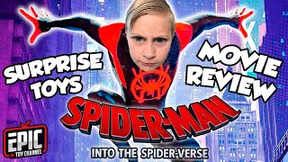 SPIDER-MAN Into The Spider-Verse Movie Review + Toy Hunt for New Into The Spider-Verse Surprise Toys