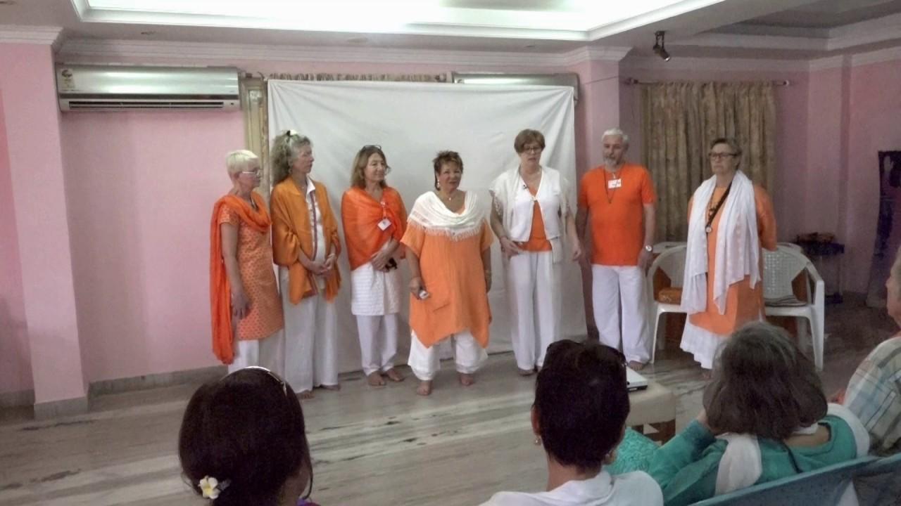 Spiritual Spine Straightening Lecture 1 in Puttaparthi