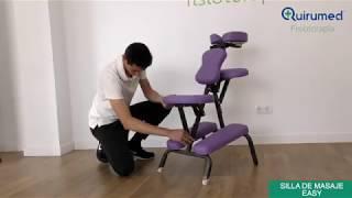 Descubre los modelos de sillas para masaje con Carlos López Cubas