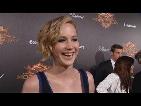 Jennifer Lawrence speaks her mind on the Hunger Games red carpet at Cannes!