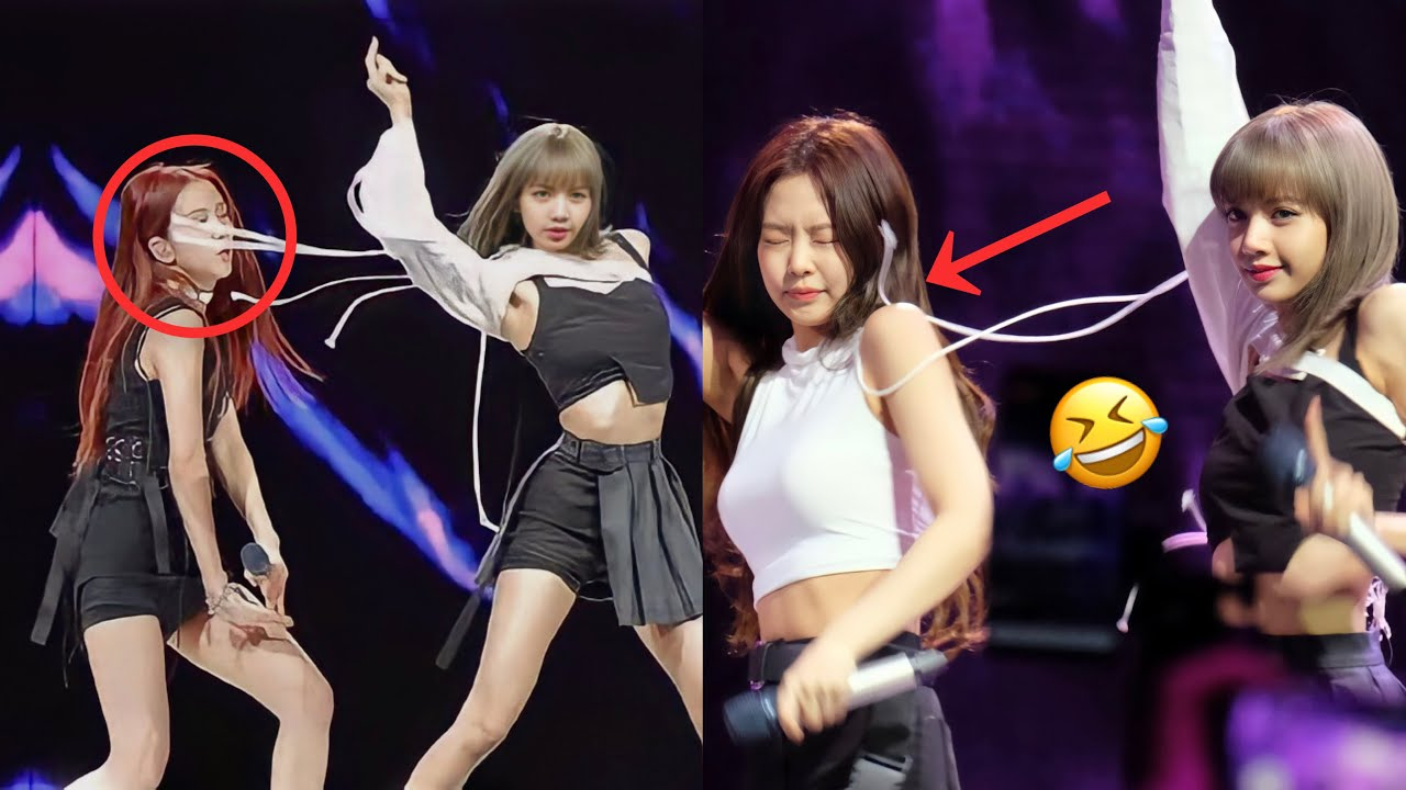 BLACKPINK Accidents And Being Professional On Stage (Part 2)