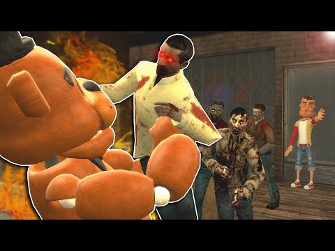 ZOMBIE SURVIVAL IN A GUN SHOP! - Garry's Mod Multiplayer Gameplay - Gmod Zombie Apocalypse thumbnail