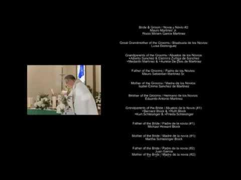 08 09 2017 Martinez Wedding Video Credits