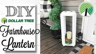 DIY Dollar Tree Decor   LANTERN!