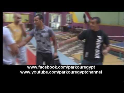 Parkour Egypt indoor footage