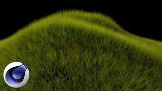 Cinema 4D – Создание травы в Cinema 4D. [Уроки 3D]