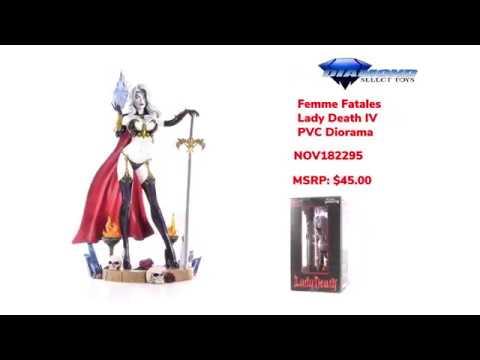 Lady Death IV PVC Figure DIAMOND SELECT TOYS Femme Fatales