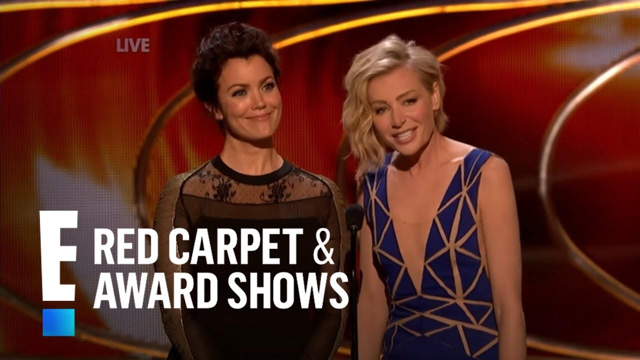 Bellamy Young And Portia De Rossi Present At People's
