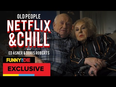 Old People Netflix And Chill with Ed Asner and Doris Roberts