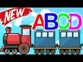 ABCD Song Simple Method To Learn ABC Song With Funny Alphabet Train For Kids mp3