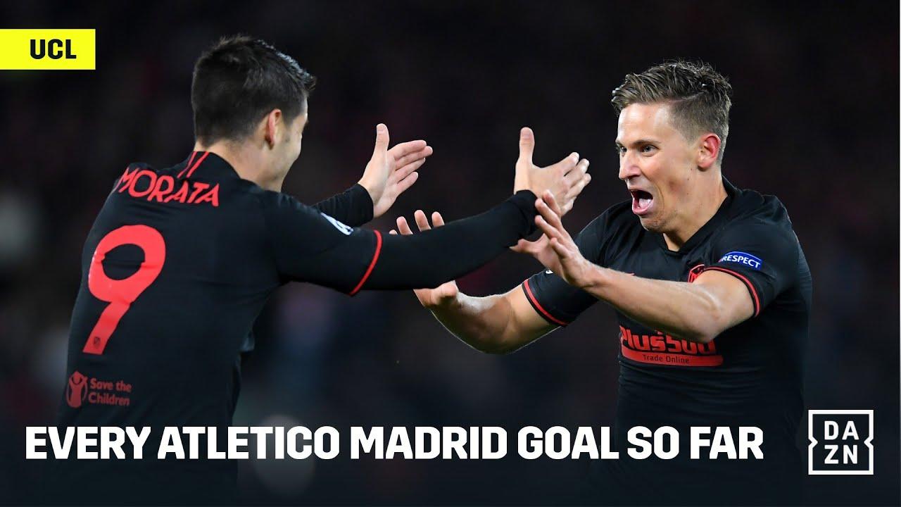 Every Atletico Madrid Champions League Goal Scored (So Far)