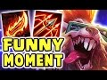 THE FUNNIEST MOMENT | MAX ATTACK SPEED RAGEBLADE 80% CRIT TWITCH JUNGLE - Nightblue3