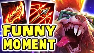 THE FUNNIEST MOMENT | MAX ATTACK SPEED RAGEBLADE 80% CRIT TWITCH JUNGLE - Nightblue3