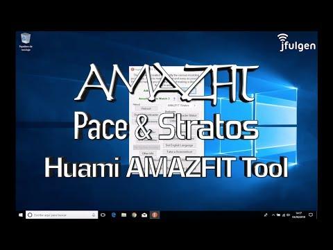 AmazFit Pace & Stratos - Huami AMAZFIT Tool