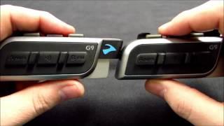 Cardo Systems: scala rider G9 Flash Intercom Pairing