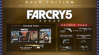 Unboxing Far Cry 5 Deluxe/Gold Edition PS4