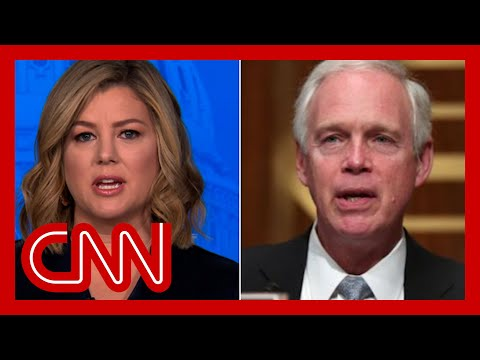 Senator says Capitol riot didn't seem like an 'armed insurrection'. Hear Keilar's response