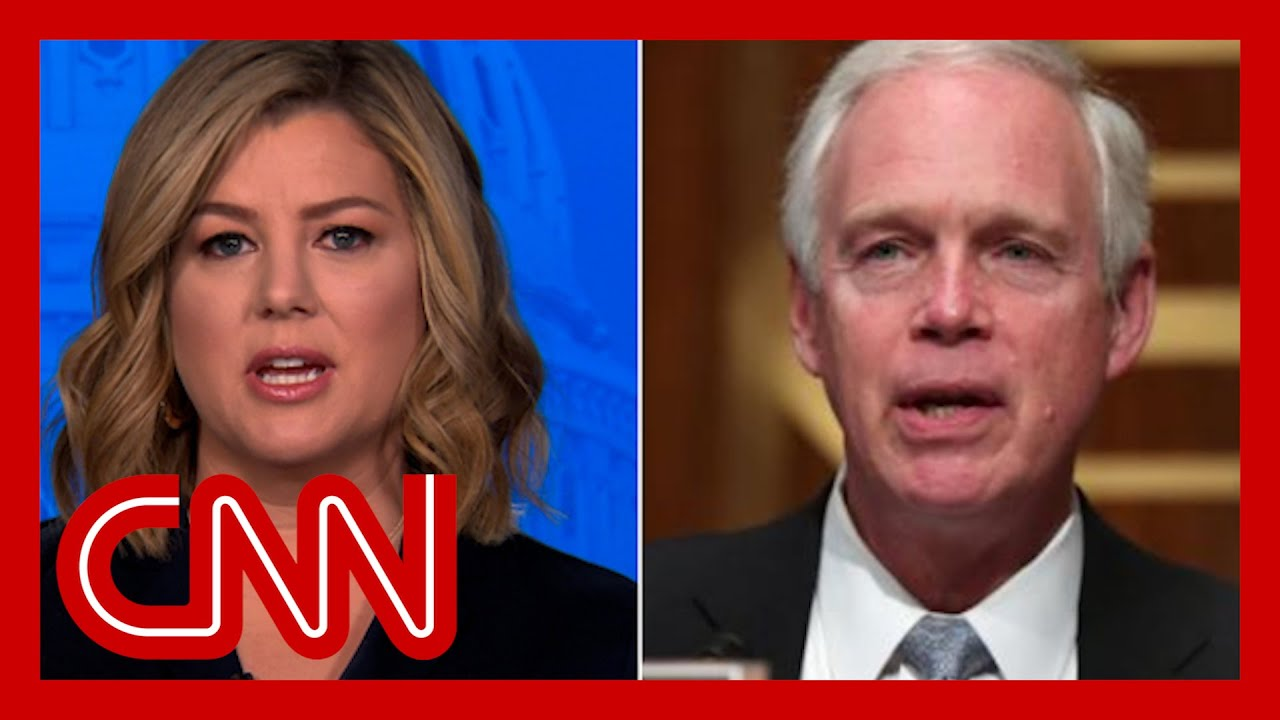 Senator says Capitol riot didn't seem like an 'armed insurrection'. Hear Keilar'