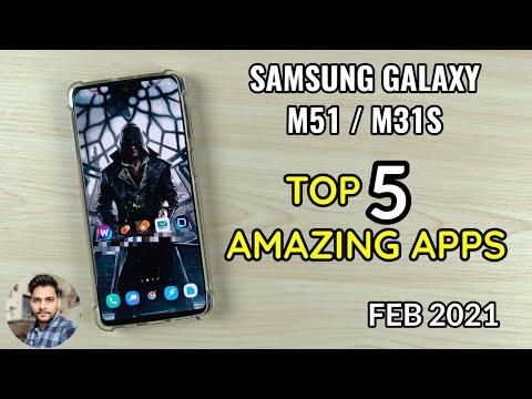 Samsung Galaxy M51/M31S : Top 5 Amazing Apps (Feb 2021)