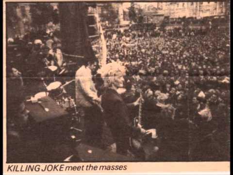 KILLING JOKE - CND Rally, Trafalgar Square, London 26/10/80 (Full Set)