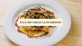 "Fabio's Kitchen - Season 4 - Episode 15 - ""Chicken Balsamic with Roasted Mushrooms"""