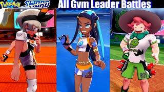 Pokemon Sword & Shield - All Gym Leaders Battles