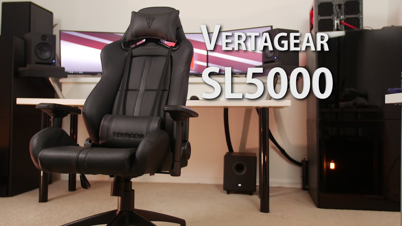 Vertagear Sl5000 Gaming Chair Review Youtube